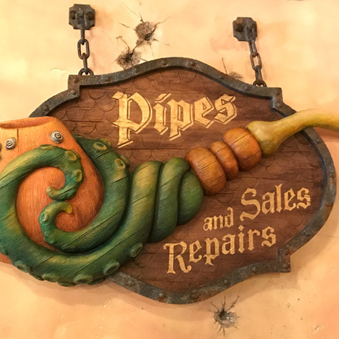 Specialty Pipes - Fabricated Marquee