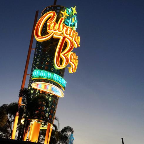 Universal's Cabana Bay Beach Resort Marquee