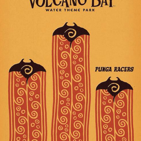 Volcano Bay Poster Concept