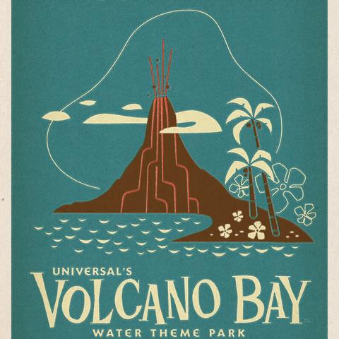 Volcano Bay Poster