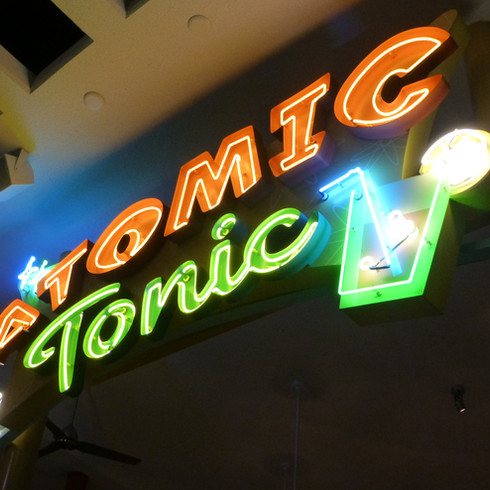 Atomic Tonic Marquee