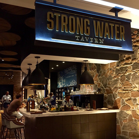 Strong Water Tavern Marquee