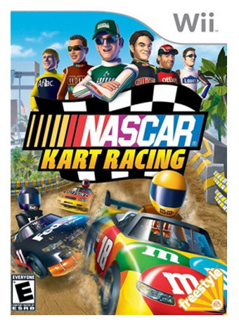 NASCAR Kart Racing - Game Design Support
