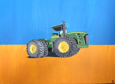 Big Green Tractor - Grayson's Room - Sold.jpg