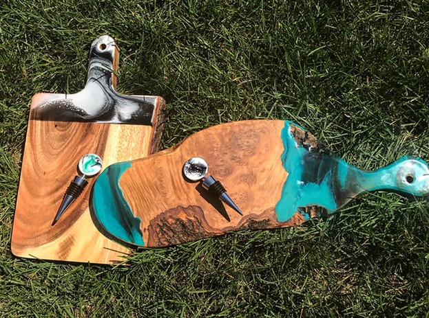 Custom Raw Edge Boards