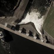 Aerial view of Kinzua Dam