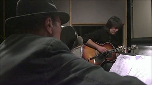 Eric and Larry Campbell_recording blues_