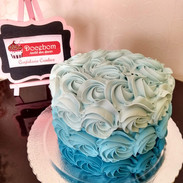 Bolo Degrade para Smash the Cake