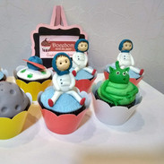 Cupcake astronauta