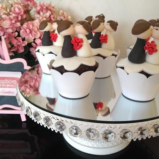 Cupcake Casal de Noivinhos