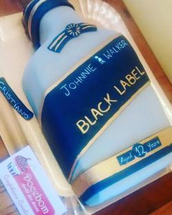 Bolo Garrafa de Whisky