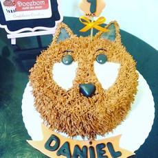 Bolo Raposinha Furry Cake