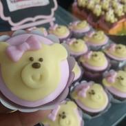 Cupcake Ursinha Cha de Bebê