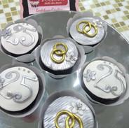 Cupcake Bodas de Prata