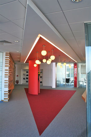 Milton Keynes Offices Cat B Fit out pic.