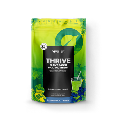 THRIVE - Plant Based Multinutrient - Blueberry & Lucuma (14 servings)