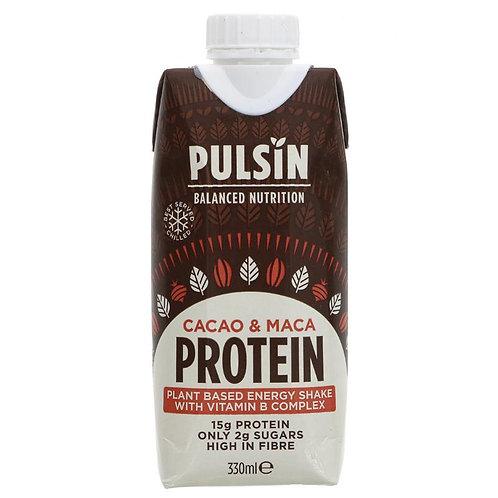 Pulsin' Cacao & Maca Protein Shake - 330ml