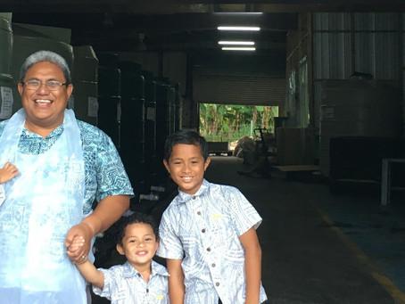 Samoa Noni Loa' Nonu Juice from Wilex destined for China