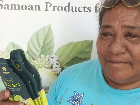 "WILEX SAMOA-LAUNCHES IN ""SAMOA NONI-LOA""- BRAND FOR EXPORT MARKETS"
