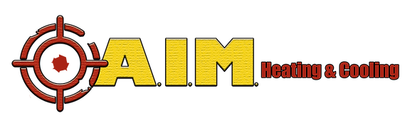 A.I.M. heating & cooling logo