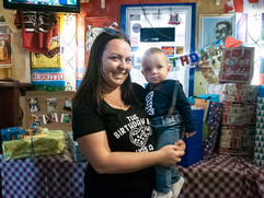 Colton's first birthday party!