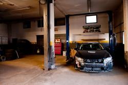 Customer cars...