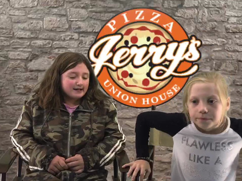 Pizza Jerry's shout out!