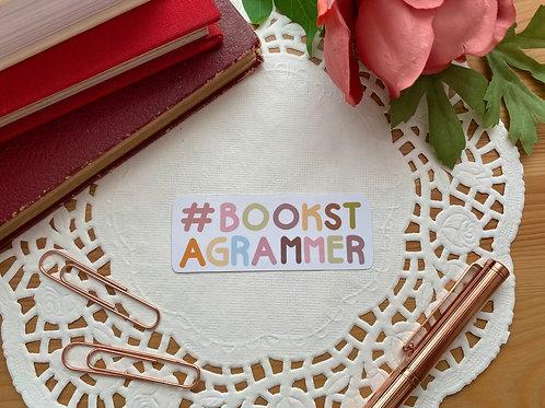 Bookstagrammer Die Cut Sticker