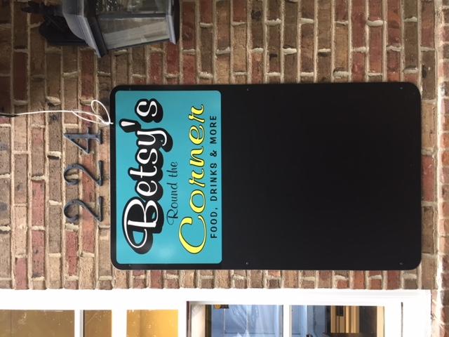 Betsy's chalkboard