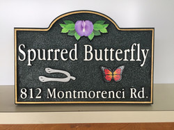 Spurred Butterfly