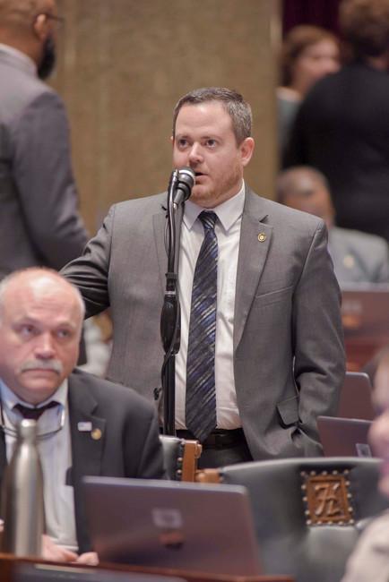 Representative Hudson Speaking on House Floor