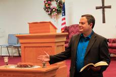Pastor Brad Hudson