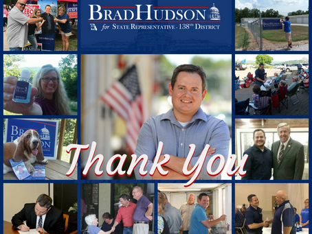 Hudson Elected to Represent 138th District.