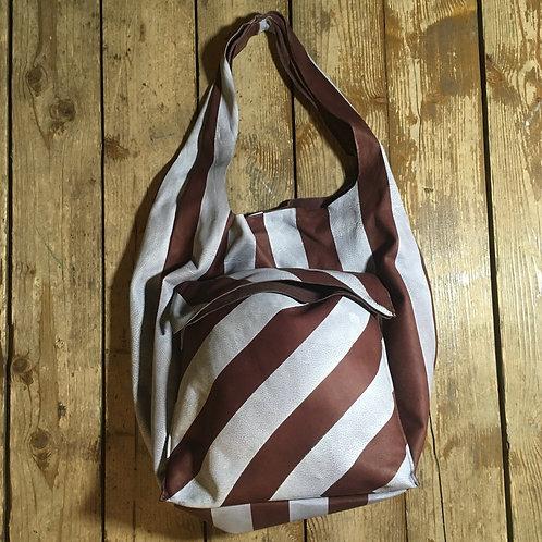 Leather bag Maxim Sharov B-072brown