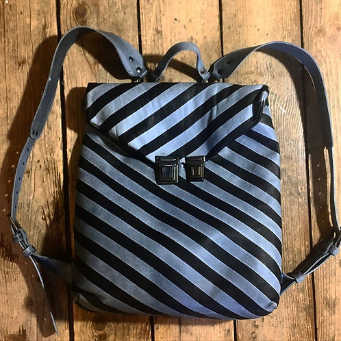 Кожаный рюкзак Maxim Sharov BP-074stripes
