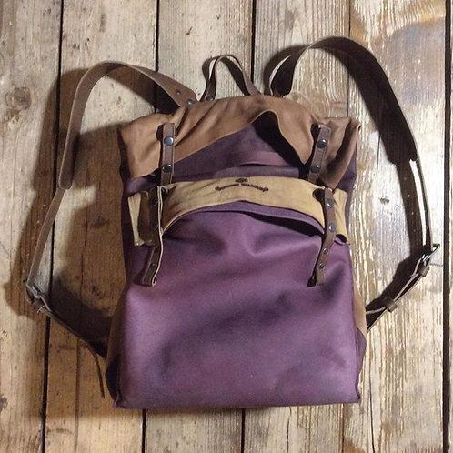 Leather backpack Maxim Sharov BP-14000