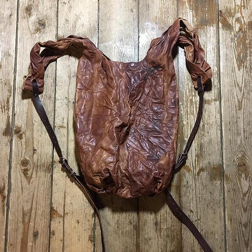 Кожаный рюкзак/сумка-мешок Maxim Sharov BP-010