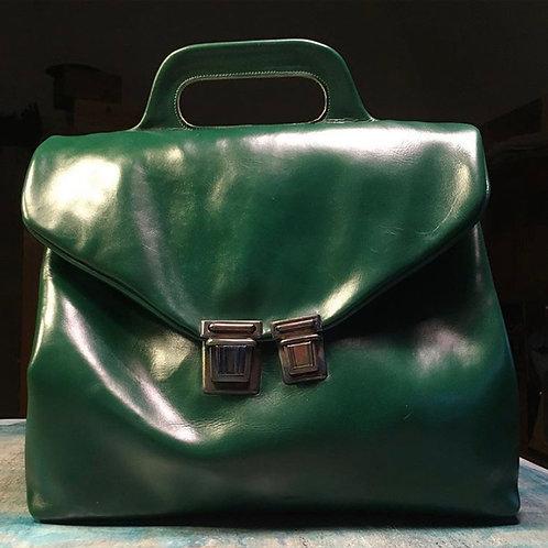 Кожаный портфель Maxim Sharov B-074