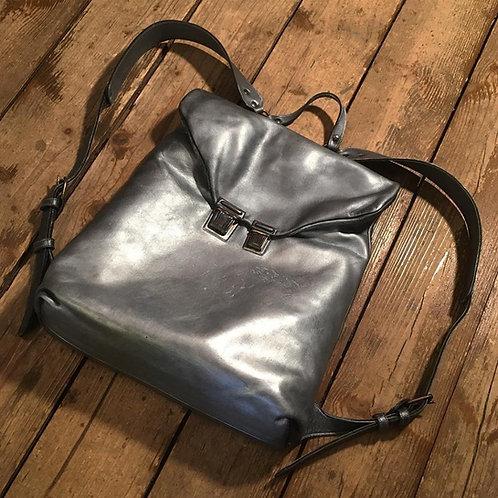 Кожаный рюкзак Maxim Sharov BP-074silver