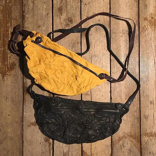 Поясная/через плечо кожаная сумка Maxim Sharov BB-008