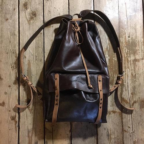 Кожаный рюкзак Maxim Sharov BP-002choko