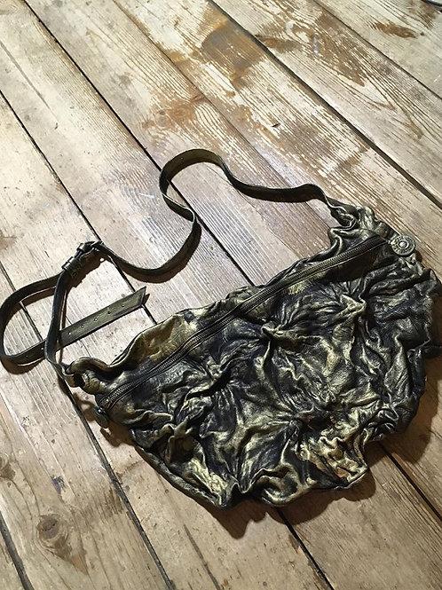 Кожаная сумка поясная/через плечо Maxim Sharov BB-009