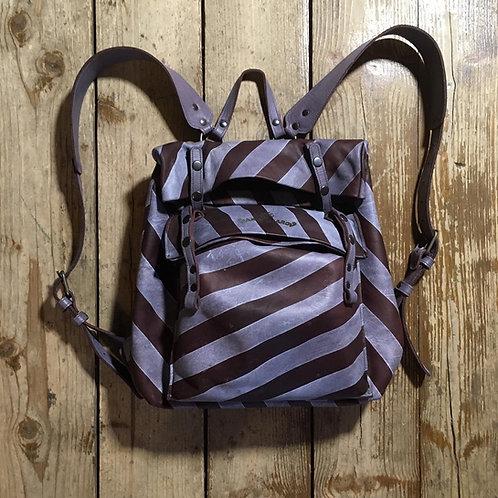 Кожаный рюкзак Maxim Sharov BP-8700stripes
