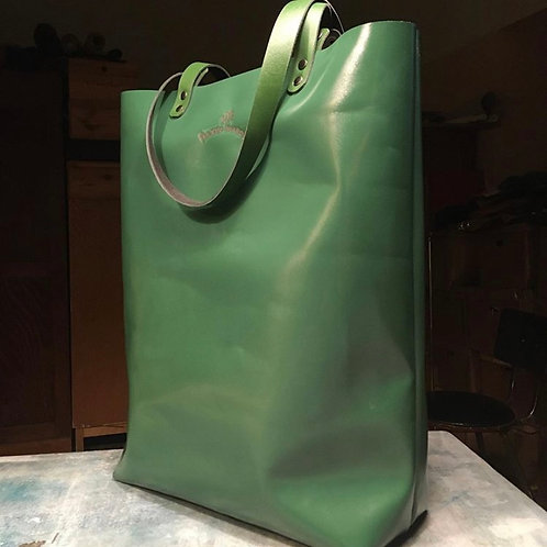 Кожаная сумка-шоппер Maxim Sharov B-055gloss