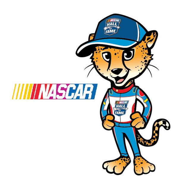 Mascot for Nascar Kids Club