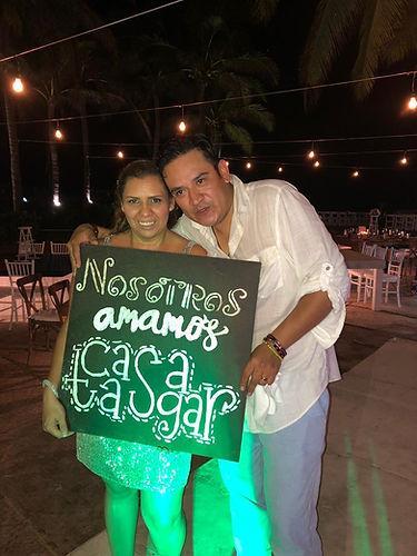 Boda Claudia y Hector - Casa Tasgar