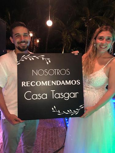 Boda Lety y Alberto - Casa Tasgar