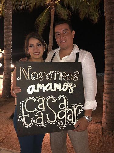 Boda Daniela y Alejandro - Casa Tasgar