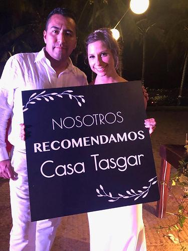 Boda Erika y Luis Enrique - Casa Tasgar