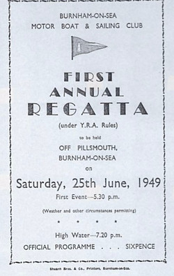 1949 - First Regatta